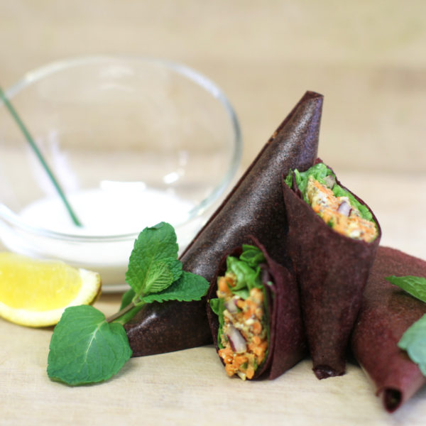 samoussa « healthy » carotte-noix-persil