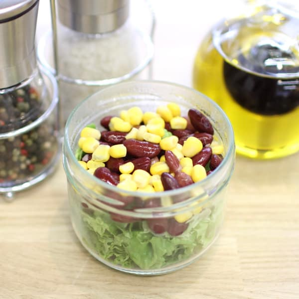 red bean corn salad